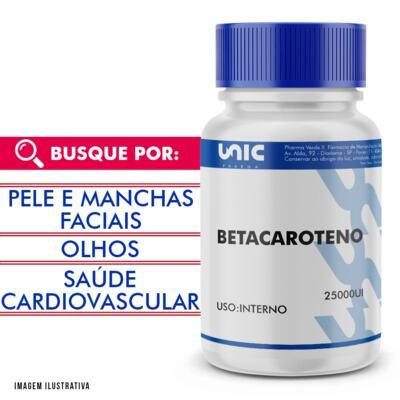 Imagem 1 do produto Betacaroteno 25000ui - 60 Cápsulas