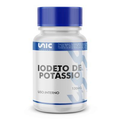 Imagem 2 do produto Iodeto de potássio 130mg - 120 Cápsulas