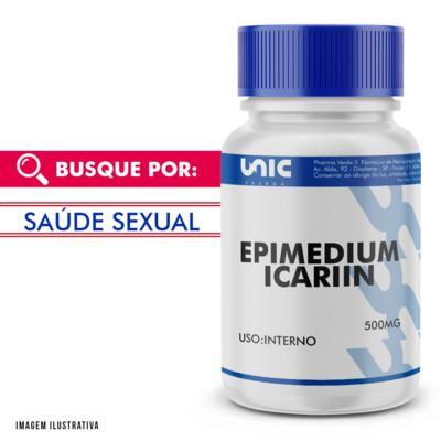 Imagem 1 do produto Epimedium icariin 500mg - 120 Cápsulas