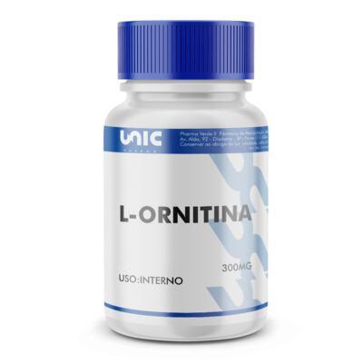Imagem 2 do produto L-ornitina 300mg - 120 Cápsulas