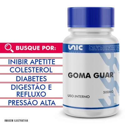 Imagem 1 do produto Goma Guar 500mg - 120 Cápsulas