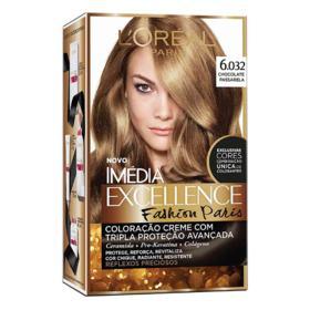 Coloração Imédia Excellence Fashion Paris - 6.032 Chocolate Passarela   1 unidade