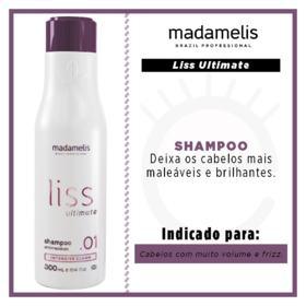 Madamelis Liss Ultimate  - Shampoo Passo 1