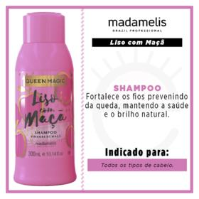 Madamelis Queen Magic Liso com Maçã - Shampoo