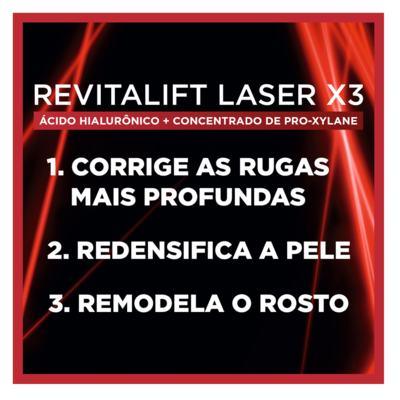 Imagem 11 do produto Creme Anti-Idade L'Oréal Paris Revitalift Laser X3 Diurno - 50ml