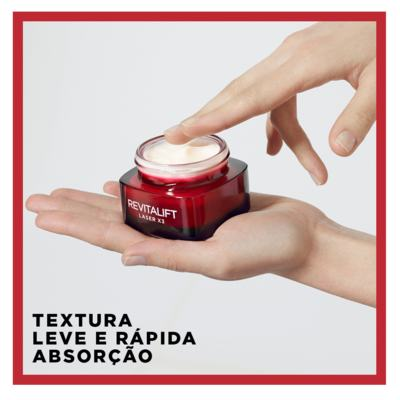 Imagem 12 do produto Creme Anti-Idade L'Oréal Paris Revitalift Laser X3 Diurno - 50ml