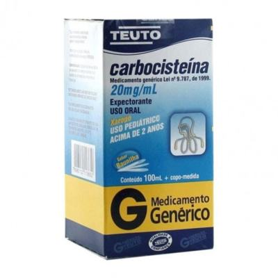 Carbocisteína Xarope Adulto Genérico Teuto -  | 100ml