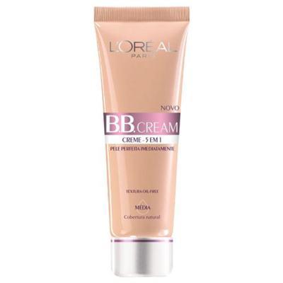 Imagem 1 do produto BB Cream 5 em 1 SPF20 50ml L'oréal Paris - Base - Médio