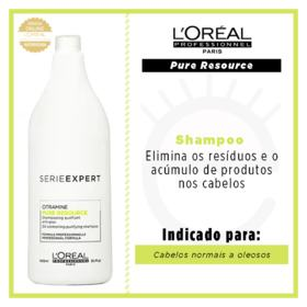 L'Oréal Professionnel Pure Resource - Shampoo - 1500ml