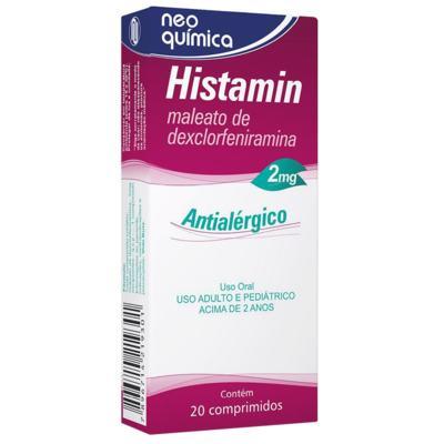 Histamin - 2mg | 20 comprimidos