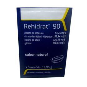 Rehidrat 90 - Sabor Natural   4 envelopes