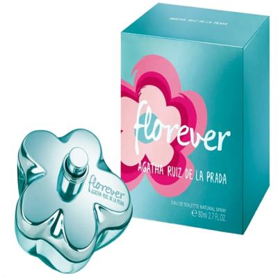 Imagem 7 do produto Florever Agatha Ruiz de la Prada - Perfume Feminino - Eau de Toilette - 80ml