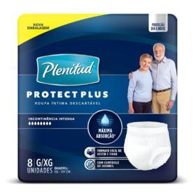 Roupa Íntima Plenitud Protect Plus - G/XG | 8 unidades