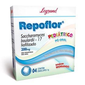 Repoflor Pediátrico - 200mg   1g   4 unidades
