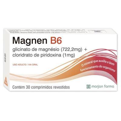 Magnen B6 - 722,2mg + 1mg | 30 comprimidos revestidos