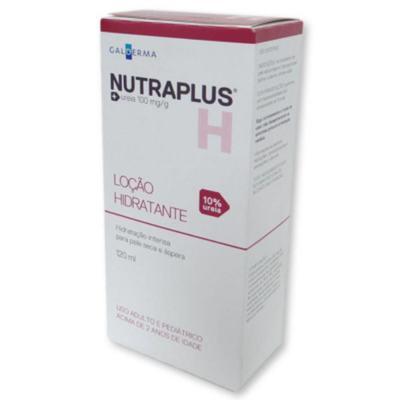 Imagem 7 do produto Nutraplus Loção Hidratante Uréia 10% para Pele Seca e Áspera 120ml - 120mL