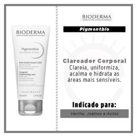 Clareador Corporal Bioderma Pigmentbio - Sensitive Areas | 75ml