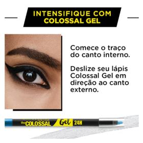 Lápis Delineador Maybelline Colossal Gel