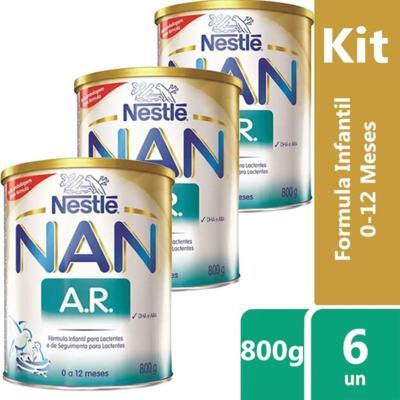 Imagem 10 do produto Nan Ar Anti-Regurgitante Fórmula Infantil 800g -