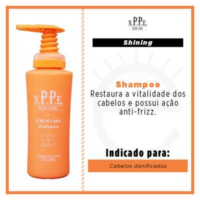 Imagem 5 do produto N.P.P.E. Hair Care Shining Shampoo - Shampoo Hidratante - 480ml