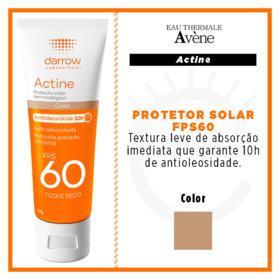 Fluido Solar Actine Color Toque Seco - Fps60   40g/60ml