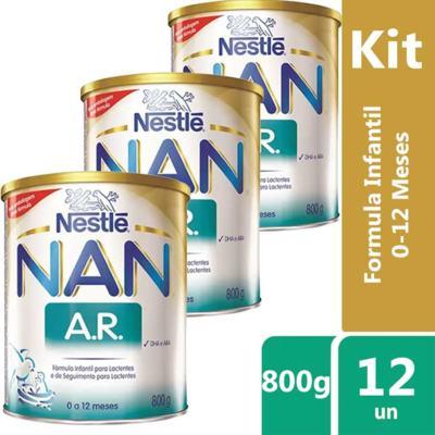 Imagem 12 do produto Nan Ar Anti-Regurgitante Fórmula Infantil 800g -