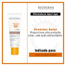 Rejuvenescedor Facial Bioderma Photoderm Spot Age - FPS 50 | 40ml