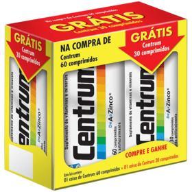 Centrum - 60 comprimidos+30 grátis