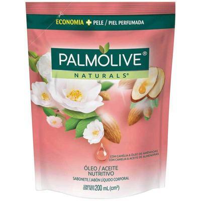Sabonete Líquido Palmolive Naturals - Óleo Nutritivo Refil | 200ml