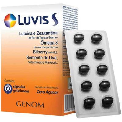 Suplemento Vitamínico Luvis S - 60 cápsulas gelatinosas