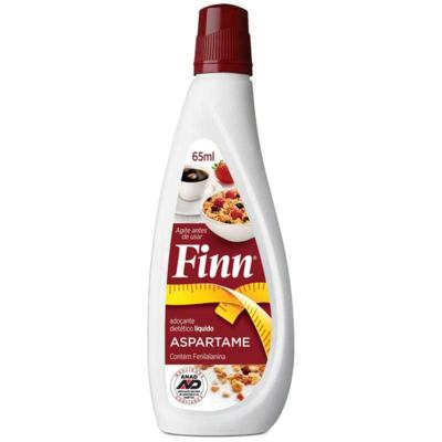Adoçante em gotas FINN - Aspartame | 65ml