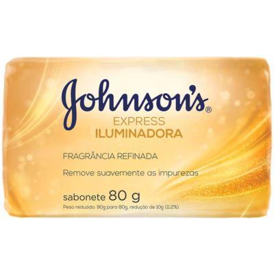 Sabonete Johnsons Barra Express - Iluminadora | 80g