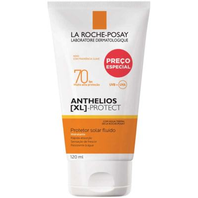 Protetor Solar Fluido Corporal Anthelios XL Protect - FPS70 | 120ml