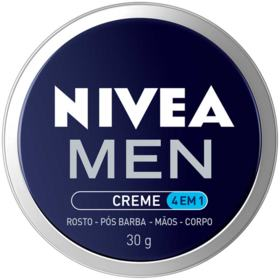 Creme Hidratante Masculino Nivea Men - 4 em 1   30g