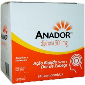 Anador - 500mg   24 comprimidos
