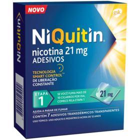 Niquitin - 21mg | 7 adesivos transdérmicos