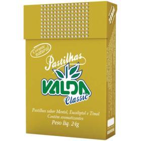 Pastilha Valda Flip Top - Classic | 24g