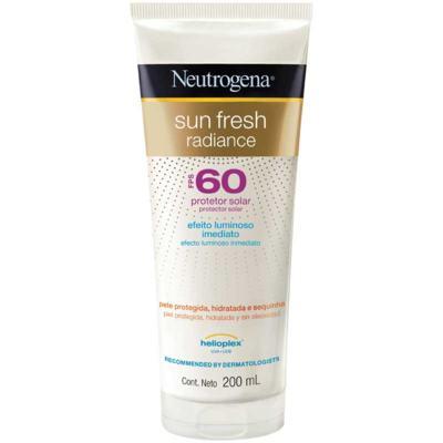 Protetor Solar Neutrogena Sun Fresh Radiance - Fps60   200ml