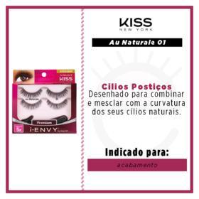Cílios Postiços Au Naturale 08 First Kiss - Cílios Postiços - Pack Duplo