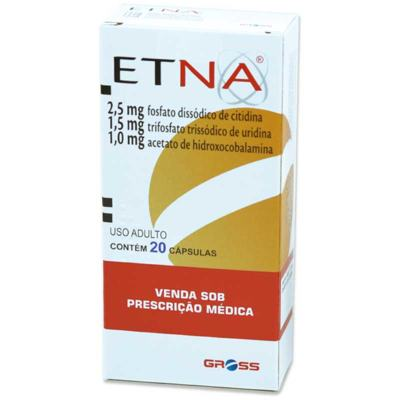 Etna - 1,0mg + 2,5mg + 1,5mg | 20 cápsulas gelatinosas duras