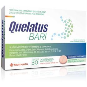 Quelatus Bari - 30 comprimidos mastigáveis