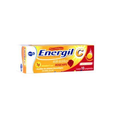 Energil C Rose Hips - 1g | 10 comprimidos efervescentes