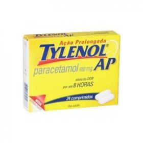 Tylenol AP - 650mg   24 comprimidos de ação prolongada