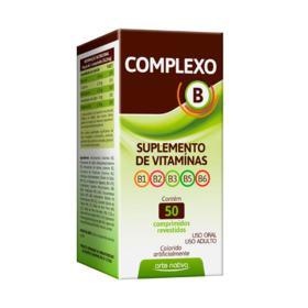 Complexo B - 50 comprimidos