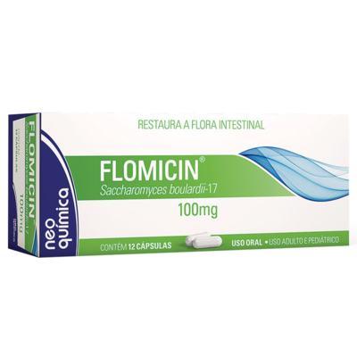 Flomicin - 100mg | 12 cápsulas