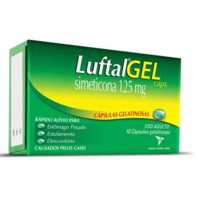 Luftal - 125mg | 10 cápsulas gel