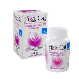 Fixa-Cal - 775mg | 60 cápsulas softgel