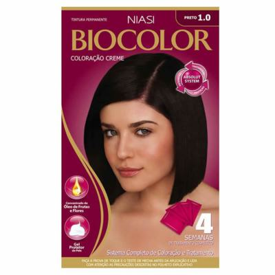 Tinta de Cabelo Biocolor - Preto Fundamental 1.0 | 1 unidade
