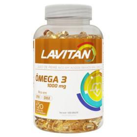 Lavitan Omega 3 - 120 cápsulas gel