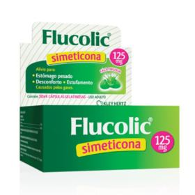 Flucolic - 125mg | 4 cápsulas gelatinosas